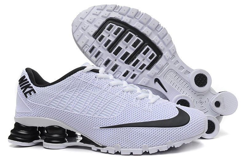 Nike Shox Turbo 21 White Black Shoes