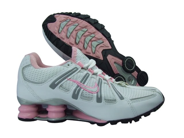 Nike Shox Turbo Womens Running Shoe White Pink Grey