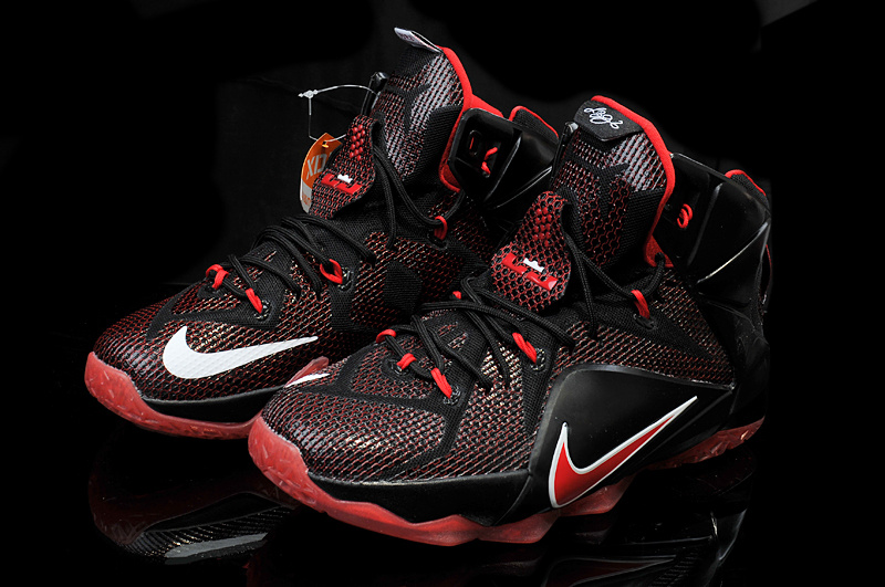 06f448c9e67f0 lebron james black and red shoes
