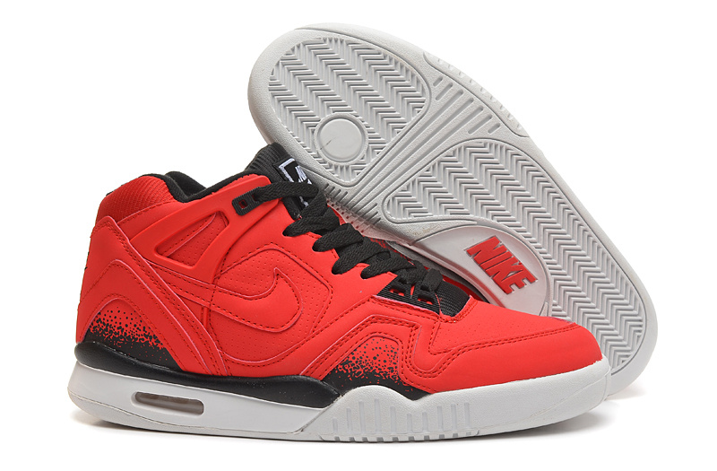Nike West 2 Low Bright Red Black White Shoes