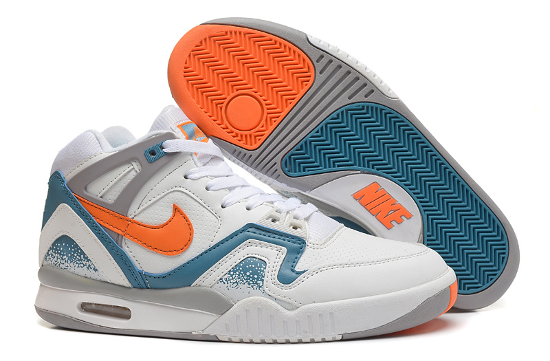 Nike West 2 Low White Blue Orange Shoes