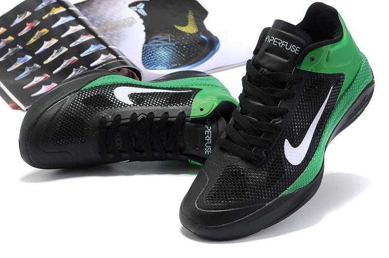 highperformance 2014 nike hyperdunk xdr low black green sale