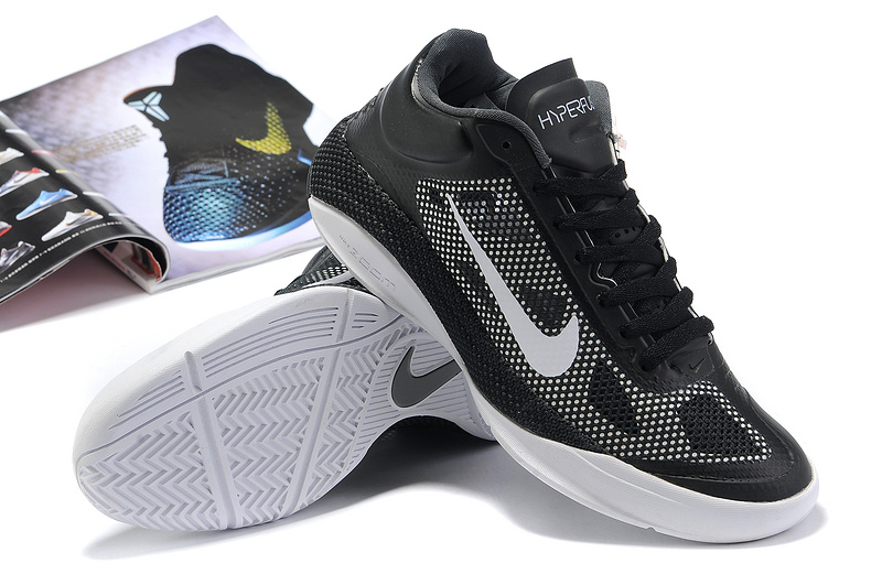 2014 Nike Hyperdunk XDR Low Black White