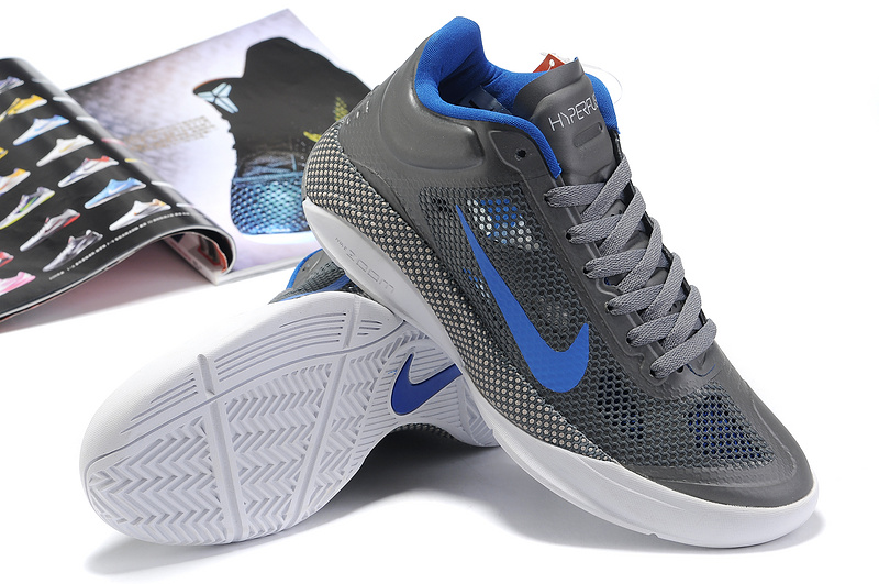 2014 Nike Hyperdunk XDR Low Grey Blue