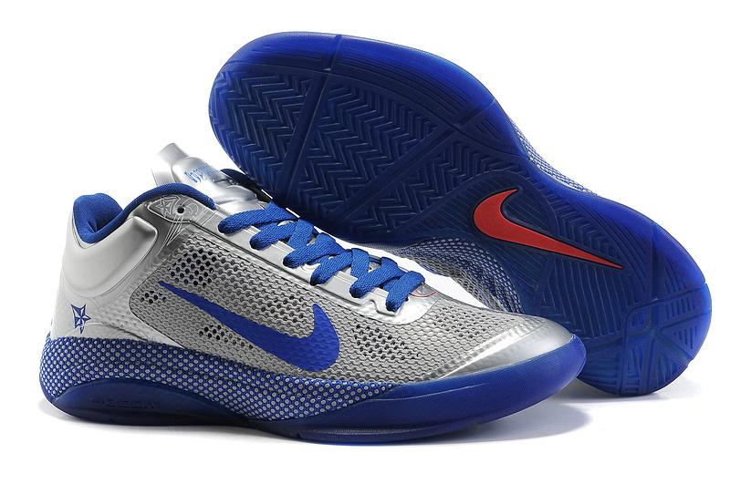 2014 Nike Hyperdunk XDR Low Silver Blue