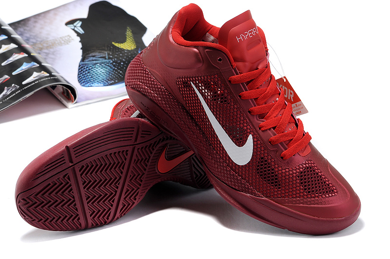 2014 Nike Hyperdunk XDR Low Wine Red
