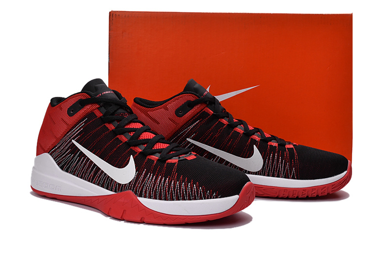 Nike Zoom ASCENTION 2016 Black Red White Shoes