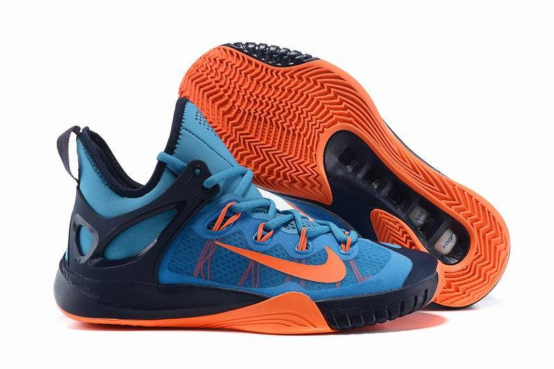 Nike Zoom HyperRev 2015 Paul George Blue Orange Dark Blue Shoes