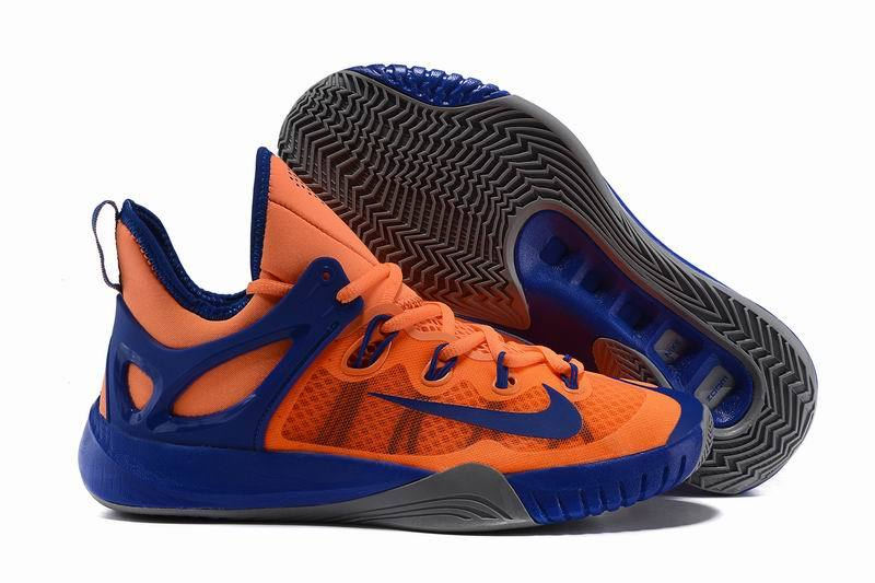 Nike Zoom HyperRev 2015 Paul George Orange Blue Shoes