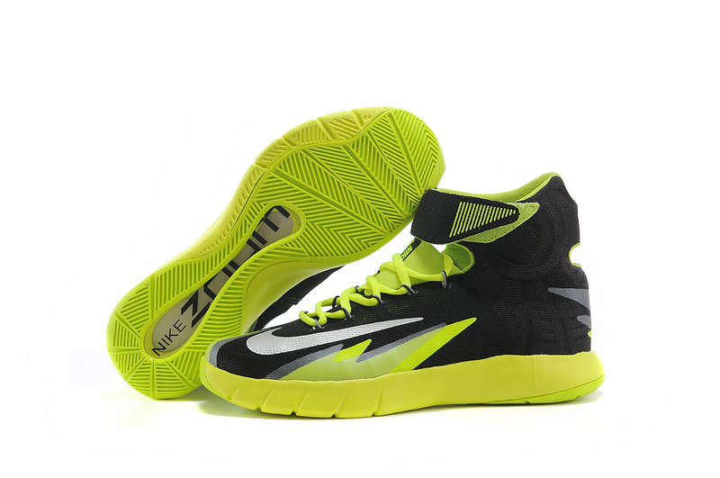 Nike Zoom HyperRev Kyrie Irving Black Fluorscent Green Basketball Shoes