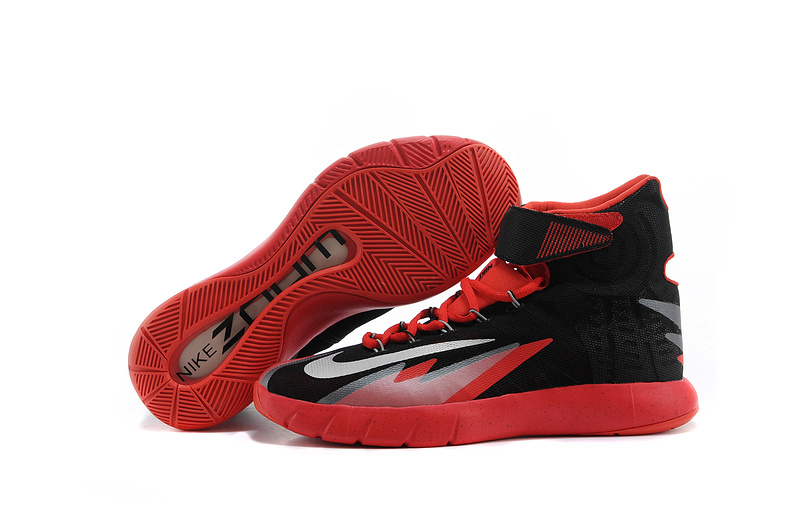 Nike Zoom HyperRev Kyrie Irving Black Red Basketball Shoes