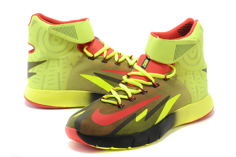 Nike Zoom HyperRev Kyrie Irving Fluorscent Red Black ...