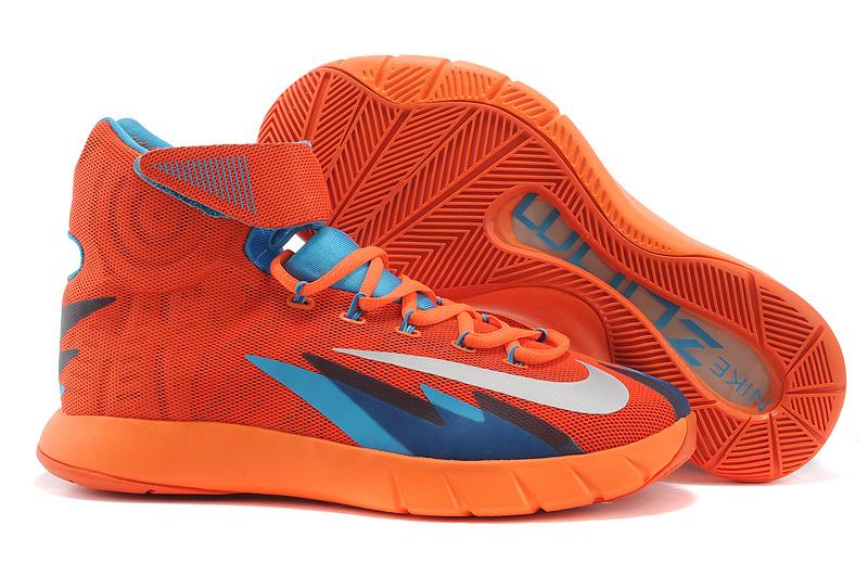 Nike Zoom HyperRev Kyrie Irving Orange Blue Basketball Shoes