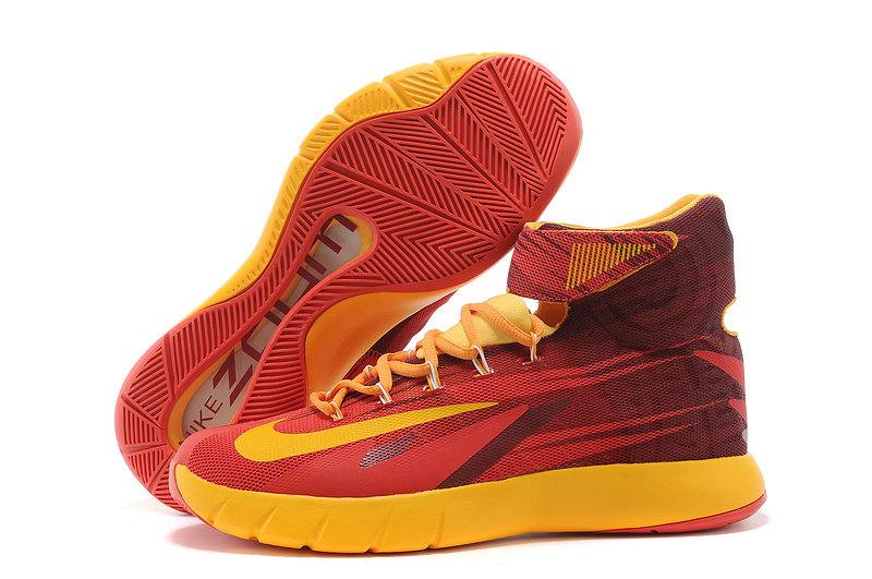Nike Zoom HyperRev Kyrie Irving Red Orange Basketball ...