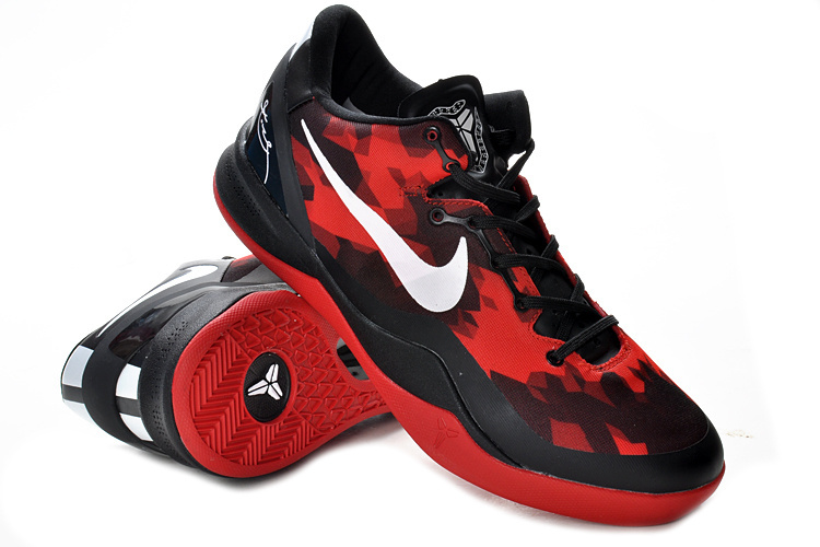 Nike Kobe Bryant 8 Shoes Red Black