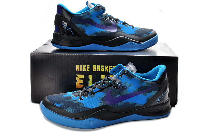 Nike Kobe Bryant 8 Shoes Blue Black