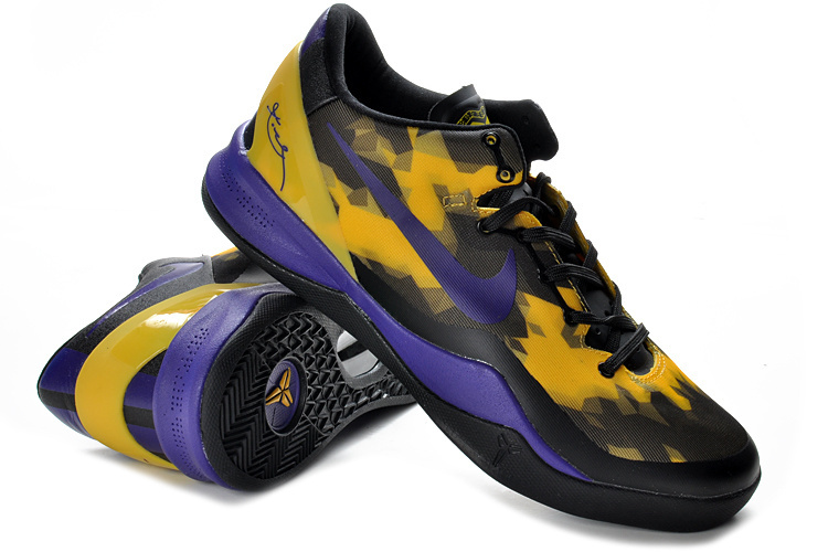 Nike Kobe Bryant 8 Shoes Purple Black