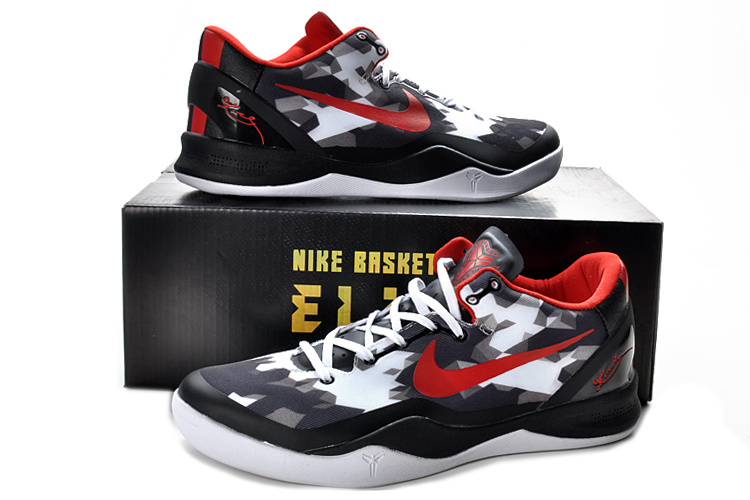 Nike Kobe Bryant 8 Shoes White Black
