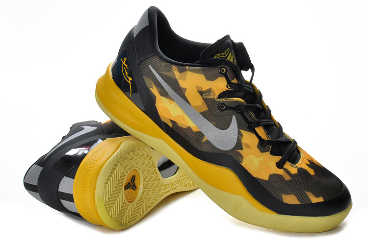 Nike Kobe Bryant 8 Shoes Yellow Black