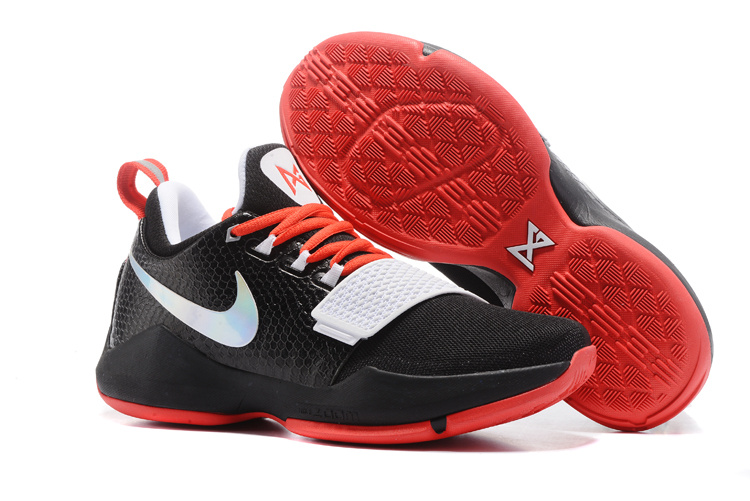 Nike Zoom PG 1 Black Red White Shoes