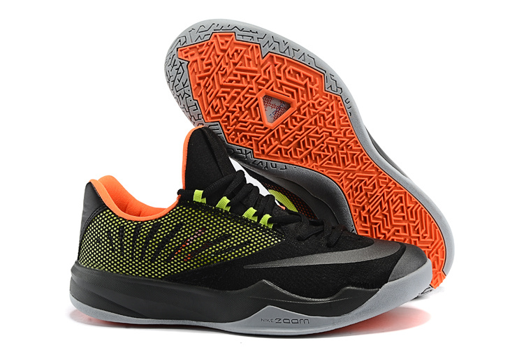 Nike Zoom Run The One Black Green Orange Shoes