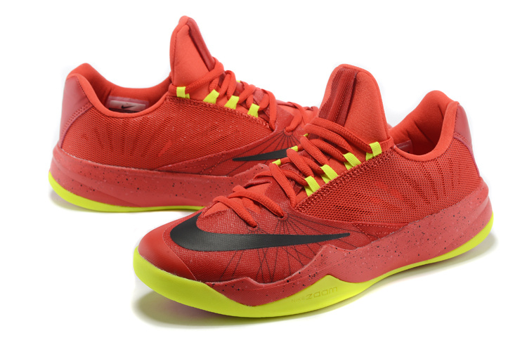 Nike Zoom Run The One Red Yellow Shoes