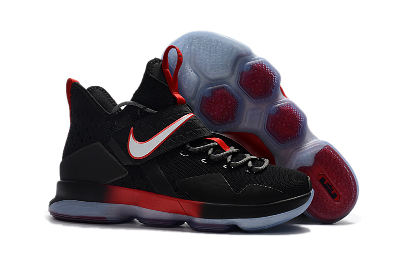 Official Nike LeBron 14 Black Red Shoes