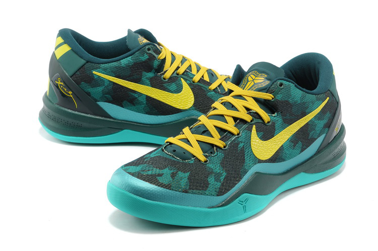 Nike Kobe Bryant 8 Shoes Black Blue Yellow