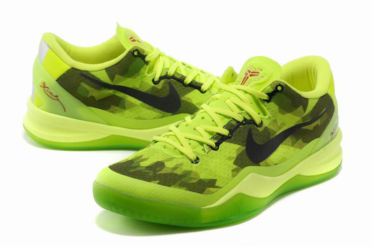 Nike Kobe Bryant 8 Shoes Green Black