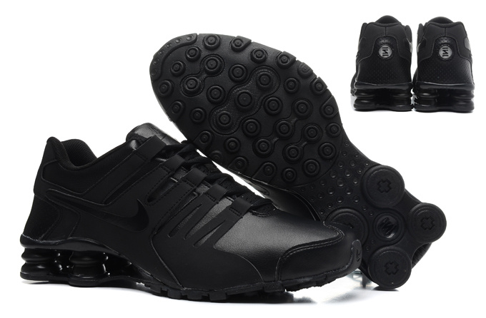 Real Men Nike Shox Current All Black
