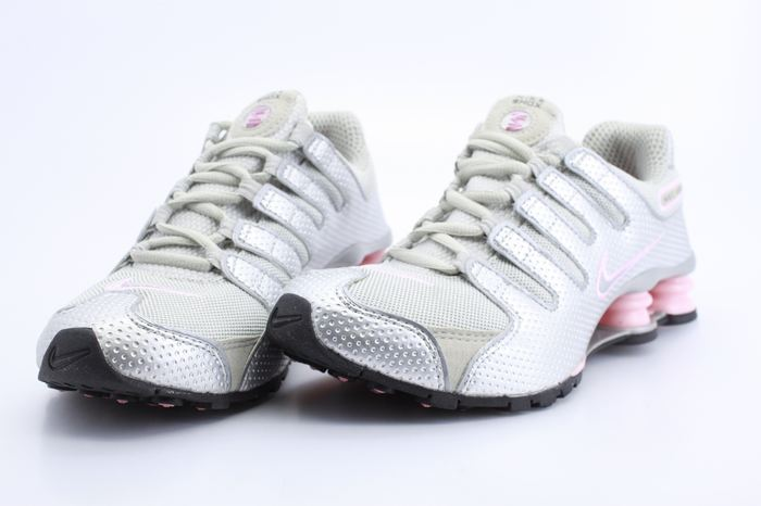 Nike Shox NZ Silver Grey Pink Shoes