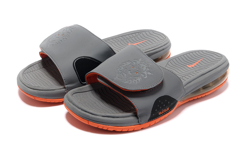 Nike Massage Hydro Sandal Grey Orange