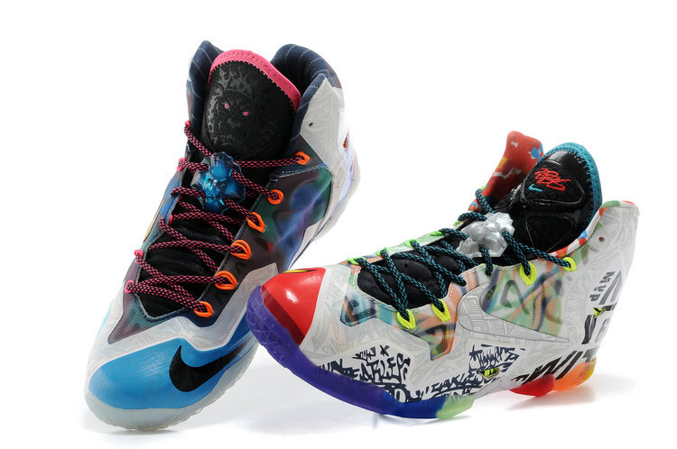2014 Popular Nike Lebron James 11 Colorful Shoes