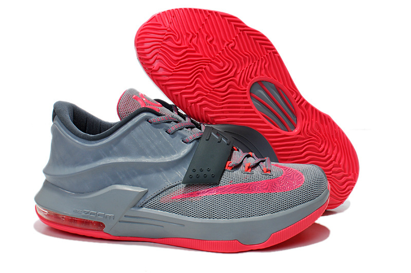 Teenage Nike KD 7 Grey Pink Shoes