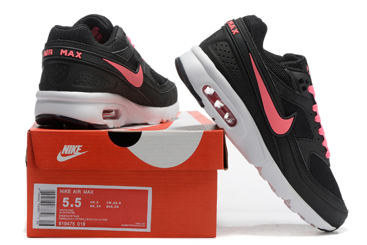 2016 Women Nike Air Max 85 Black Pink