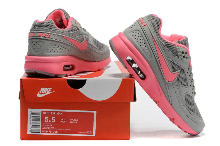 2016 Women Nike Air Max 85 Grey Pink
