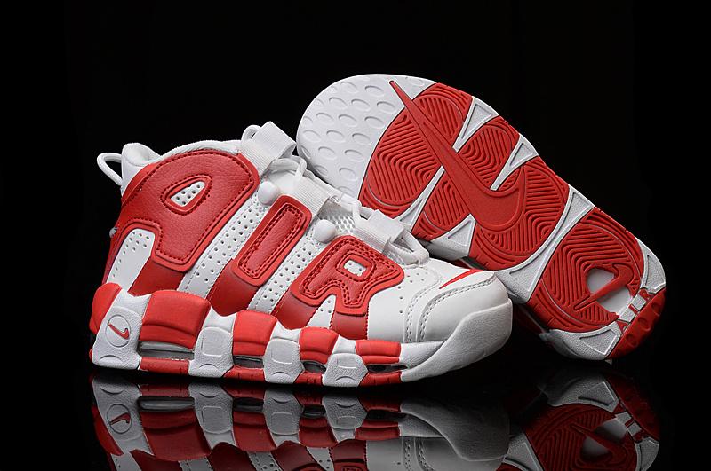 Women Nike Air Dream Team 1 Red White Shoes