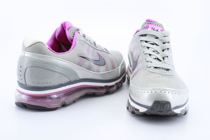 Women Nike Air Max 2009 Grey Silver Pink Shoes