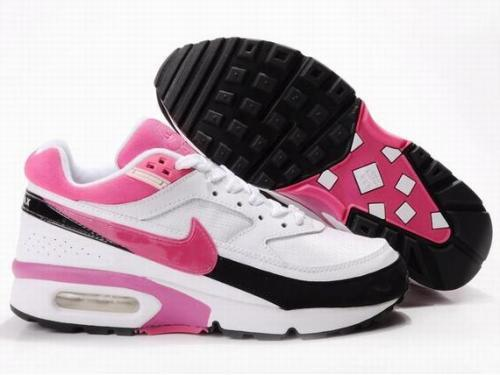 2016 Women's Nike Air Max BW White Pink Black