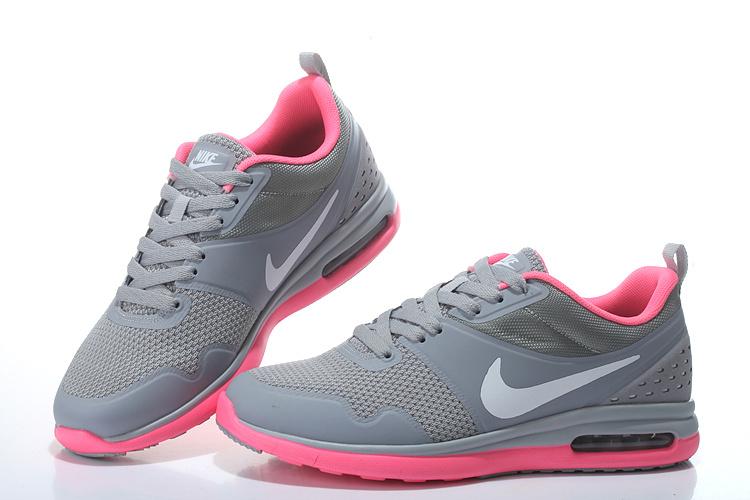 2016 Women's Nike Air SB Grey Pink White Running Shoes
