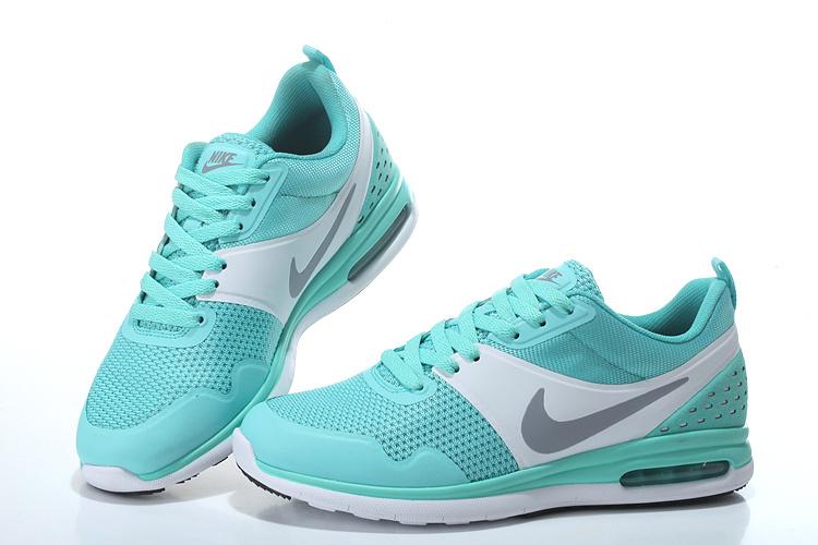 2016 Women's Nike Air SB Light Green White Running Shoes