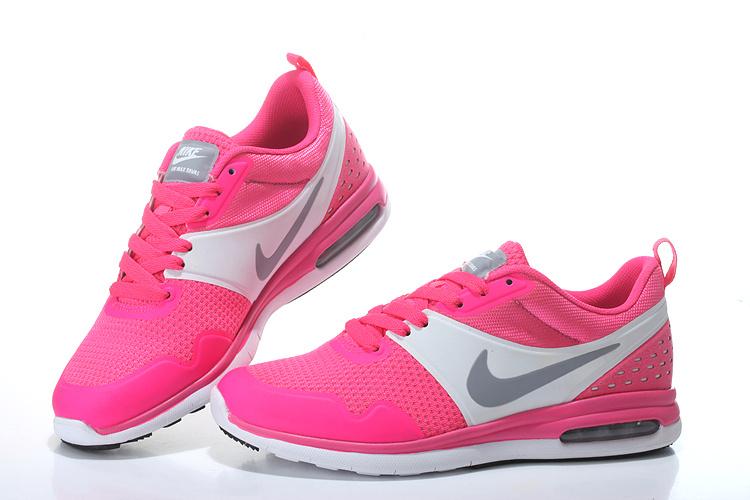 2016 Women's Nike Air SB Pink White Grey Running Shoes