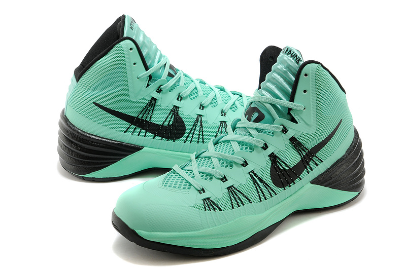 nike hyperdunk 2013 xdr green black basketball shoes