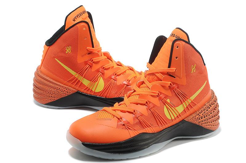 Women Nike HyperDunk 2013 XDR Orange Black Basketball Shoes