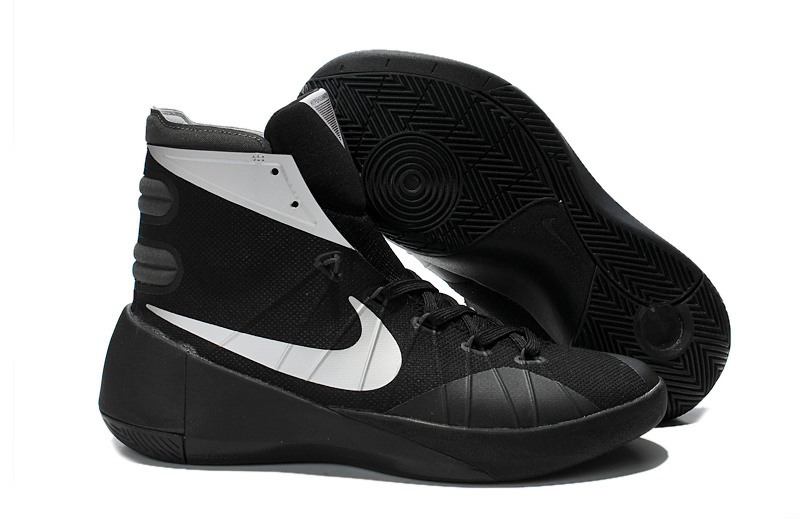 Women Nike Hyperdunk 2015 Black White Basketball Shoes