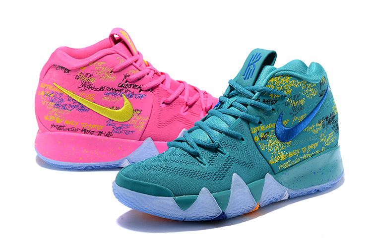 Women Nike Kyrie 4 Christmas Version Shoes