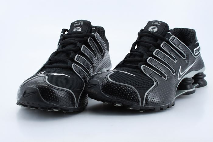 Women Nike Shox NZ All Black Shoes