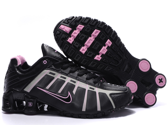 Women Nike Shox NZ III Black Pink Shoes