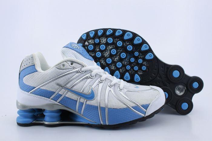 8982c747d91 Women Nike Shox OZ White Baby Blue Shoes  WNSO09  -  73.00   Kobe ...