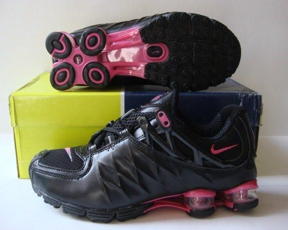 Women Nike Shox R3 Black Red Shoes